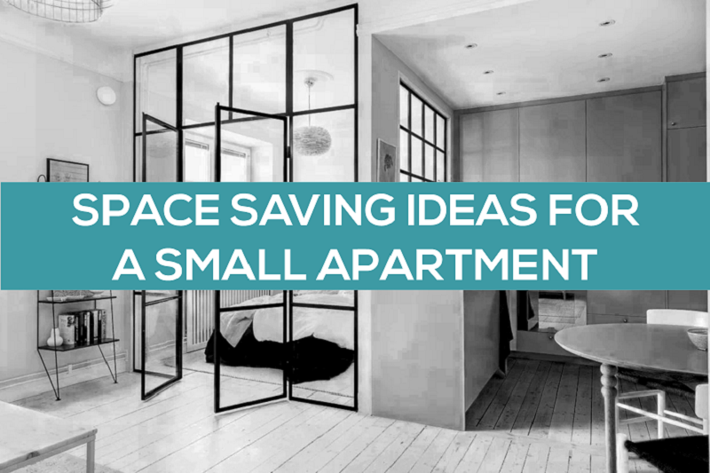 How to be space savvy in your apartment!