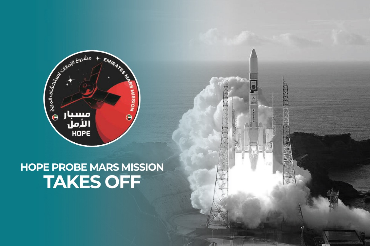 UAE successfully launches Hope Probe